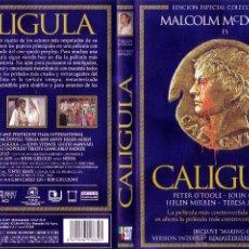 Cine: DVD ORIGINAL *CALÍGULA* X (1ª ED. ESP. COLECCIONISTAS). VERSIÓN ÍNTEGRA SIN CENSURAR. PRECINTADO.. Lote 23916956