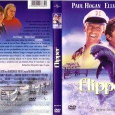Cine: DVD ORIGINAL * FLIPPER * . DTOR. ALAN SHAPIRO. CON ELIJAH WOOD Y PAUL HOGAN. PRECINTADO.. Lote 23587032
