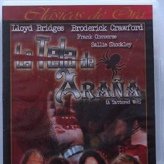 Cine: DVD LA TELA DE ARAÑA - LIOYD BRIDGES - BRODERICK CRAWFORD. Lote 39979588