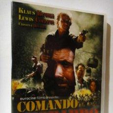 Cine: COMANDO LEOPARDO PELICULA DVD KLAUS KINSKI EL DE NOSFERATU. Lote 39994430