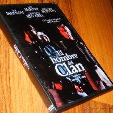Cine: EL HOMBRE DEL CLAN TERENCE YOUNG LEE MARVIN RICHARD BURTON DVD THRILLER RACISMO USADO LEVE R. Lote 194946201