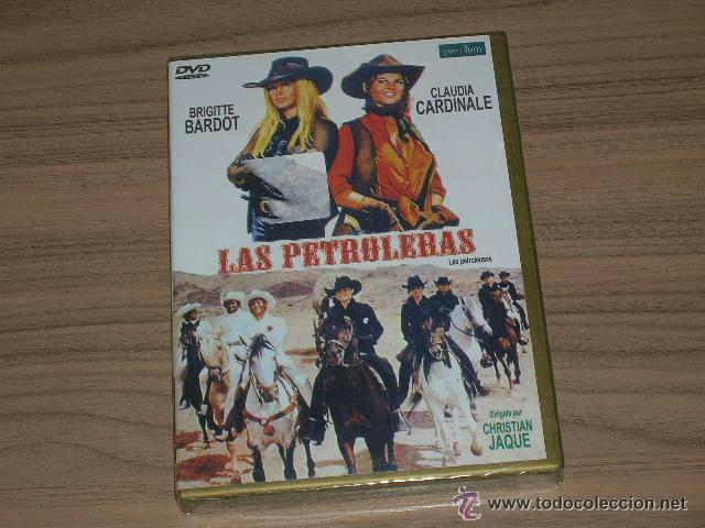LAS PETROLERAS DVD BRIGITTE BARDOT CLAUDIA CARDINALE NUEVA PRECINTADA (Cine - Películas - DVD)