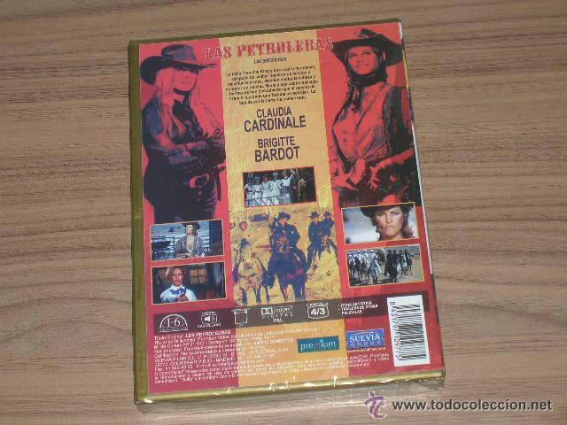Cine: LAS PETROLERAS DVD Brigitte Bardot Claudia Cardinale NUEVA PRECINTADA - Foto 2 - 54972778