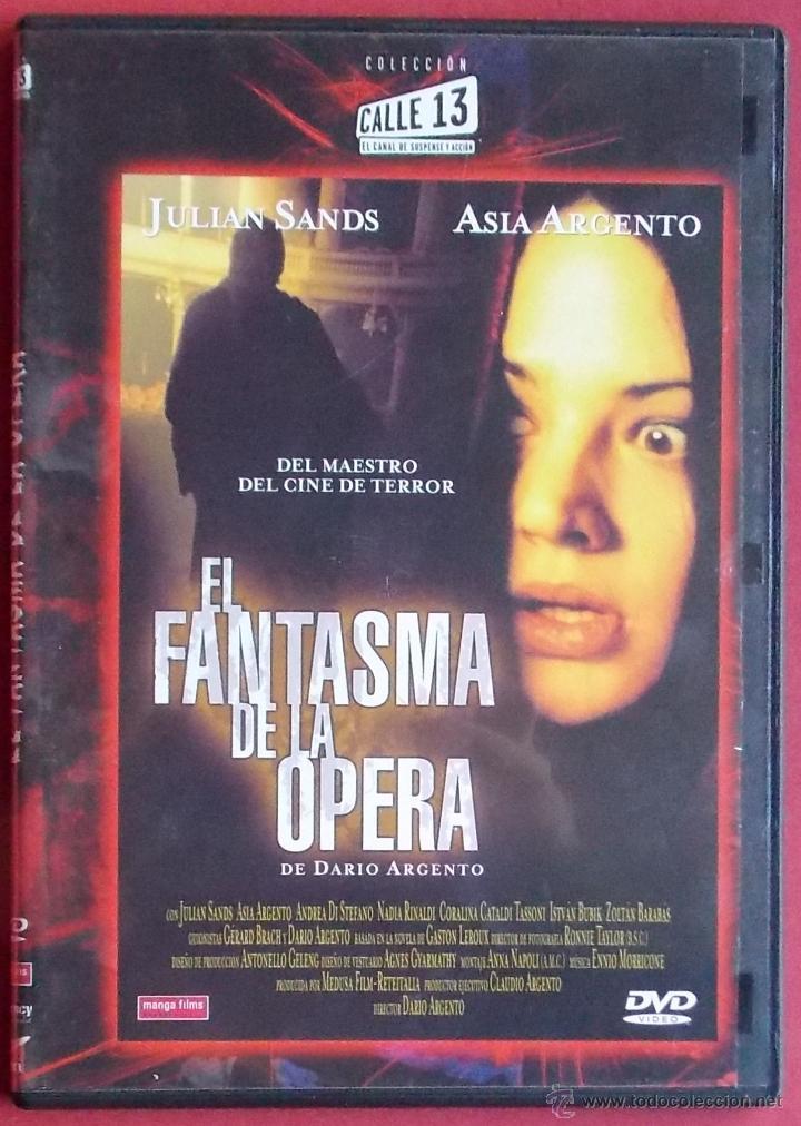 EL FANTASMA DE LA OPERA - DARIO ARGENTO (Cine - Películas - DVD)