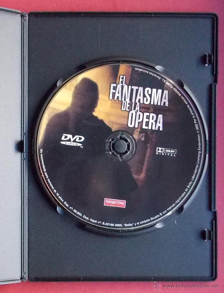 Cine: EL FANTASMA DE LA OPERA - DARIO ARGENTO - Foto 2 - 40072267