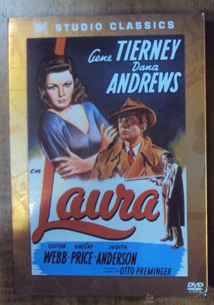 LAURA, GENE TIERNEY Y DANA ANDREWS. STUDIO CLASSICS (20 CENTURY FOX). (Cine - Películas - DVD)