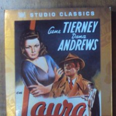 Cine: LAURA, GENE TIERNEY Y DANA ANDREWS. STUDIO CLASSICS (20 CENTURY FOX).. Lote 40128658