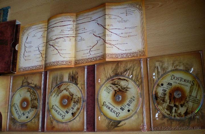 Cine: El Señor de Los anillos versión extendida Las dos torres 4 DVD - Foto 2 - 40159643
