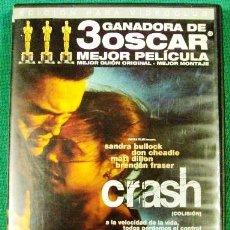 Cine: DVD CRASH COLISION MUY BUENA PELICULA CON 3 OSCAR.. Lote 233196505