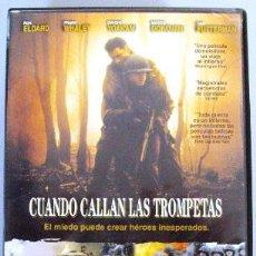 Cine: DVD CUANDO CALLAN LAS TROMPETAS. Lote 149418830