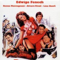 Cine: LA PROFESORA Y EL ULTIMO DE LA CLASE (DVD PRECINTADO) EDWIGE FENECH Y ALVARO VITALI JAIMITO. Lote 195027162
