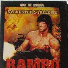 Cine: DVD RAMBO ACORRALADO: PARTE 2 SYLVESTER STALLONE (PRECINTADO). Lote 40538970