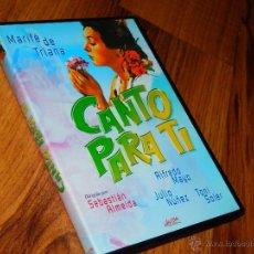 Cine: CANTO PARA TI MARIFE DE TRIANA ALMEIDA MAYO DVD COMO NUEVO MUSICAL AÑOS 20 J. Lote 143152165