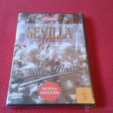 Cine: DVD VIDEO SEVILLA COFRADE EL CORREO DE ANDALUCIA VOLUMEN 3 SEMANA SANTA MARIA PRECINTADO NUEVO. Lote 40660427