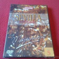 Cine: DVD VIDEO SEVILLA COFRADE EL CORREO DE ANDALUCIA VOLUMEN 5 MAJESTUOSO PRECINTADO NUEVO SEMANA SANTA. Lote 40660732