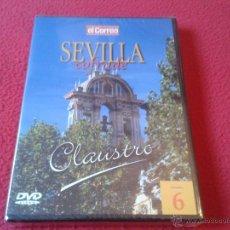 Cine: DVD VIDEO SEVILLA COFRADE SEMANA SANTA EL CORREO DE ANDALUCIA VOLUMEN 6 CLAUSTRO PRECINTADO NUEVO. Lote 40660844
