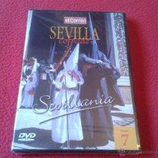 Cine: DVD VIDEO SEVILLA COFRADE EL CORREO DE ANDALUCIA VOLUMEN 7 SEVILLANIA SEMANA SANTA PRECINTADO NUEVO. Lote 40667064