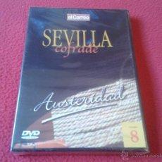 Cine: DVD VIDEO SEVILLA COFRADE EL CORREO DE ANDALUCIA AUSTERIDAD VOLUMEN 8 SEMANA SANTA PRECINTADO NUEVO. Lote 40667127