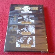 Cine: DVD VIDEO Nº 3 JOYAS DEL CINE WESTERN EL FORAJIDO RABIA INTERIOR LA LEY DE FUERZA NUEVO PRECINTADO. Lote 40667813