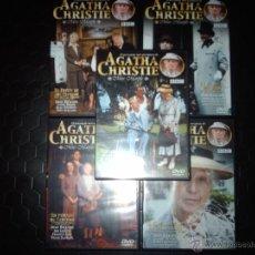 Cine: LOTE 5 DVDS ORIGINALES AGATHA CHRISTIE. Lote 40675957