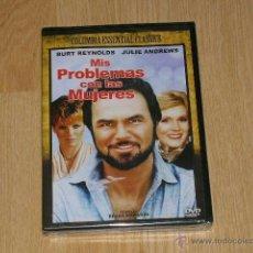 Cine: MIS PROBLEMAS CON LAS MUJERES DVD BURT REYNOLDS JULIE ANDREWS KIM BASINGER NUEVA PRECINTADA. Lote 136485001