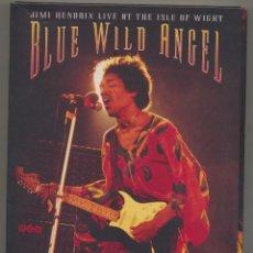 Cine: JIMI HENDRIX: PACK BLUE WILD ANGEL (3 DISCOS) + FOLLETO...NUEVO (LEER). Lote 40703198
