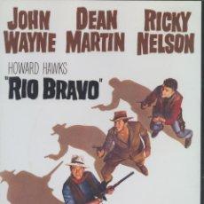 Cine: RÍO BRAVO (HOWARD HAWKS - JOHN WAYNE) . Lote 40711897