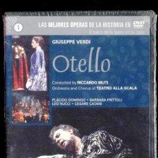 Cine: GIUSEPPE VERDI: OTELLO. PLÁCIDO DOMINGO, BARBARA FRITTOLI, LEO NUCCI, CESARE CATANI. RICCARDO MUTI. Lote 40766555
