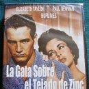 Cine: DVD LA GATA SOBRE EL TEJADO DE ZINC CON PAUL NEWMAN Y ELISABETH TAYLOR PRECINTADA NUEVA. Lote 40845727