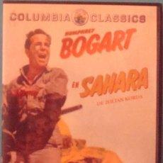 Cine: DVD SAHARA DE ZOLTAN KORDA HUMPHREY BOGART . Lote 40852847
