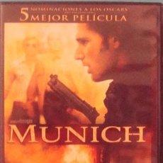 Cine: DVD MUNICH ERIC BANA,DANIEL CRAIG FILM DE STEVEN SPIELBERG. Lote 40852902