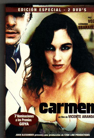 CARMEN***FILM DE VICENTE ARANDA***EDICION ESPECIAL 2 DVD`S (Cine - Películas - DVD)