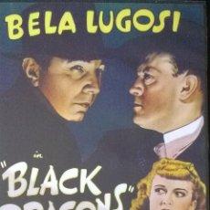 Cine: BLACK DRAGONS-BELA LUGOSI-DIRECTOR WILLIAM NIGH-BOOKLET VARIOS IDIOMAS-FILM NO ESTRENADO EN ESPAÑA. Lote 40871773