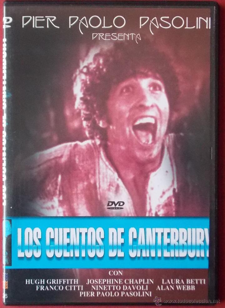 LOS CUENTOS DE CANTERBURY - PIER PAOLO PASOLINI (Cine - Películas - DVD)