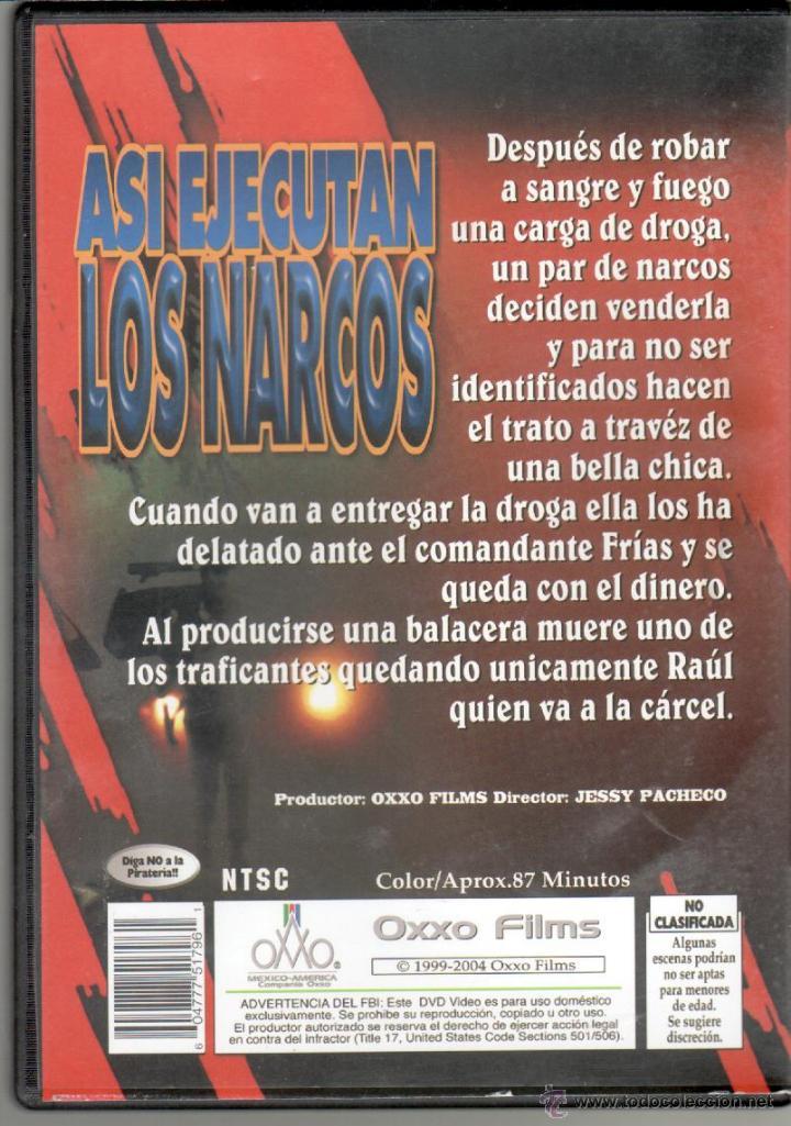 Cine Dvd Asi Ejecutan Los Narcos Juan Va Vendido En Venta