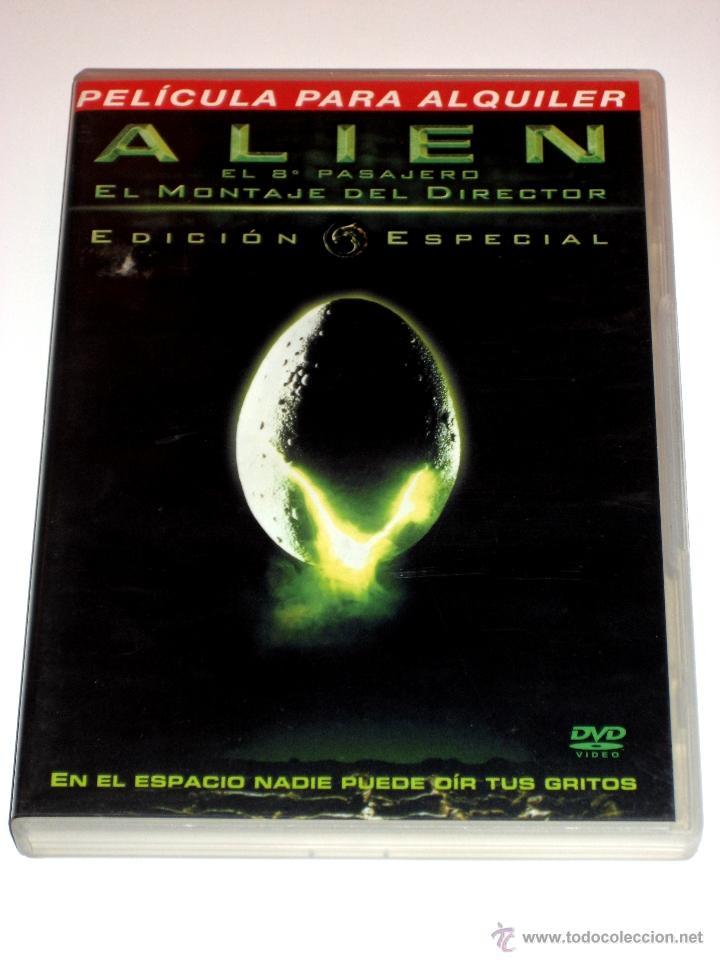 ALIEN EL OCTAVO PASAJERO DVD ED. ESPECIAL 2 DISCOS MONTAJE ORIGINAL + MONTAJE DIRECTOR (Cine - Películas - DVD)