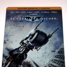 Cine: EL CABALLERO OSCURO DVD EDICION ESPECIAL 2 DISCOS CAJA METALICA DESCATALOGADA. Lote 40940156