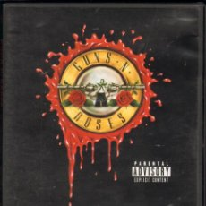 Cine: CINE GOYO - DVD - GUNS N' ROSES - WELCOME TO THE VIDEOS - 13 EXITOS EN SUS MEJORES VIDEOCLIPS *DD99. Lote 101544268