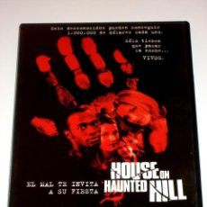 Cine: HOUSE ON HAUNTED HILL - GEOFFREY RUSH FAMKE JANSSEN DVD. Lote 40964147