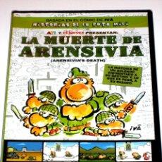 Cine: LA MUERTE DE ARENSIVIA - HISTORIAS DE LA PUTA MILI - IVÁ DVD ANIMACION EL JUEVES PRECINTADO. Lote 40966119