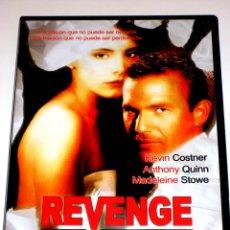 Cine: REVENGE - TONY SCOTT KEVIN COSTNER ANTHONY QUINN MADELINE STOWE DVD DESCATALOGADA. Lote 40972758