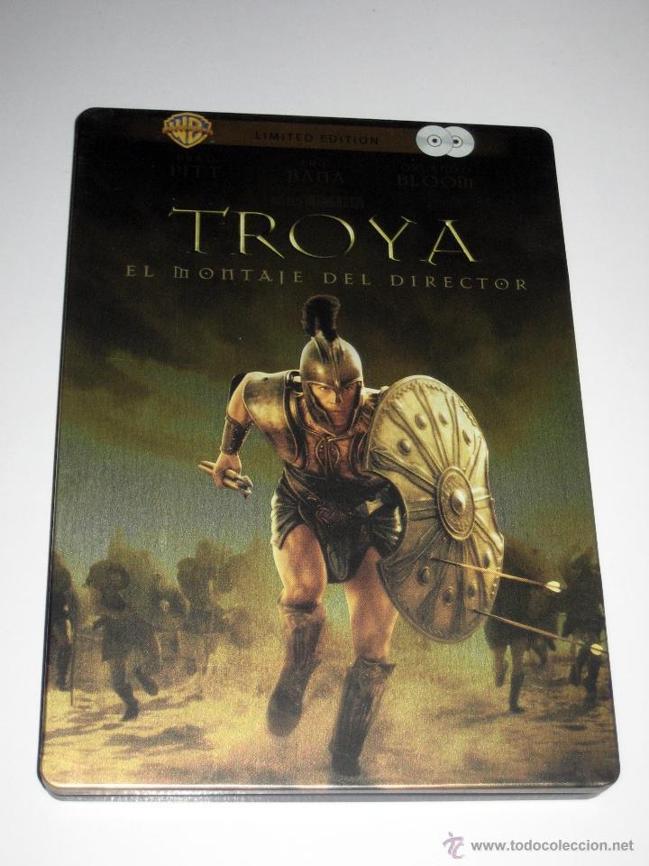TROYA (EL MONTAJE DEL DIRECTOR) ED. LIMITADA 2 DISCOS CAJA METALICA DVD DESCATALOGADA (Cine - Películas - DVD)