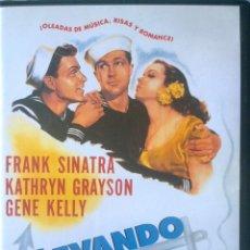 Cine: LEVANDO ANCLAS-FRANK SINATRA-GENE KELLY-JOSÉ ITURBI-TOM AND JERRY- DIRECTOR GEORGE SIDNEY. Lote 41009717