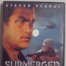 Cine: DVD SUBMERGED STEVEN SEAGAL . Lote 41069132