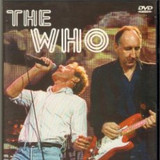 Cine: MUSICA GOYO - DVD - THE WHO - LIVE & ALIVE - MITOS DEL ROCK & ROLL - RARE - *UU99. Lote 23598312