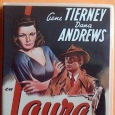 Cine: DVD LAURA GENE TIERNEY DANA ANDREWS . Lote 41085205