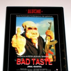Cine: MAL GUSTO (BAD TASTE) - PETER JACKSON DVD ED. FILMAX DESCATALOGADA. Lote 45874159