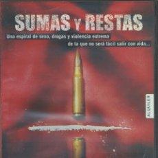 Cine: SUMAS Y RESTAS DVD (COLOMBIA Y SU CHANTAJE NARCO). Lote 41192988