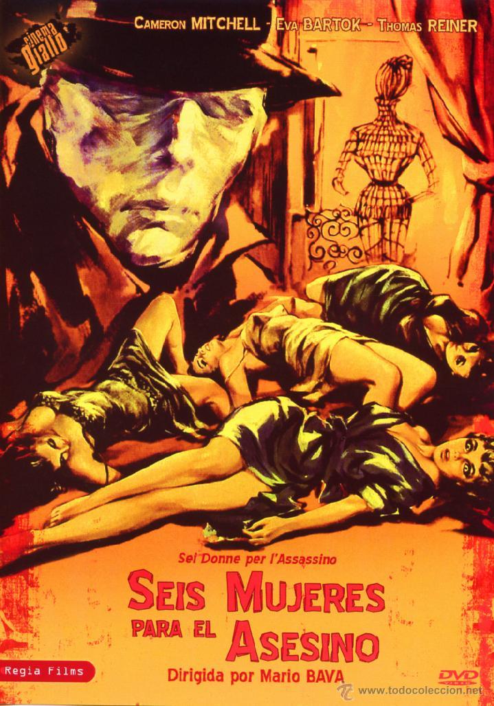 SEIS MUJERES PARA EL ASESINO (DVD PRECINTADO NOVEDAD VERSION SIN CENSURA) GIALLO DE CULTO MARIO BAVA (Cine - Películas - DVD)