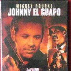 Cine: JOHNNY EL GUAPO - MICKEY ROURKE - ELLEN BARKIN - ELIZABETH MCGOVERN - FOREST WHITAKER - MORGAN FREEM. Lote 41214570
